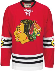 Ccm Men's Bobby Hull Chicago Blackhawks Premier Jersey - Red M Blackhawks Jerseys, Nhl Hockey Jerseys, Men's Hockey, Hockey Rules, Hockey Logos, Nhl Chicago, Chicago Blackhawks, Blackhawks News, Bobby Hull