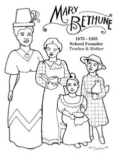 16 fabulous, famous women coloring pages for kids