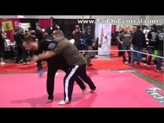 MMA student gets a crash course in push hands
