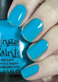 great blog for cute nails and cool colors