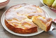 Gâteau invisible aux poires Weight Watchers