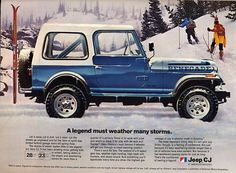 Jeep CJ ad.