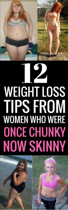 12 realistic ways to lose weight - tips from women who were once upon a time chunky now skinny and sexy