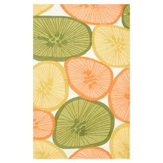 I pinned this Citrus Rug from the Rug Market event at Joss and Main!