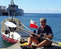 Romuald Koperski - Solo Rowing Journey Across the Atlantic in 77 days