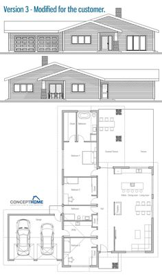Modified Home Plan / Customer House