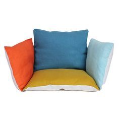 Lab Linen Baby Cushion - Multicoloured-product
