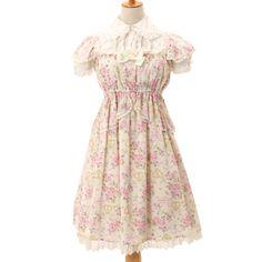 http://www.wunderwelt.jp/products/detail5455.html ☆ ·.. · ° ☆ ·.. · ° ☆ ·.. · ° ☆ ·.. · ° ☆ ·.. · ° ☆ Floral chiffon dress BABY THE STARS SHINE BRIGHT ☆ ·.. · ° ☆ How to order ☆ ·.. · ° ☆ http://www.wunderwelt.jp/user_data/shoppingguide-eng ☆ ·.. · ☆ Japanese Vintage Lolita clothing shop Wunderwelt ☆ ·.. · ☆ #egl