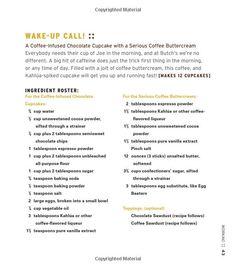 Wake up-Call Cupcake part 1