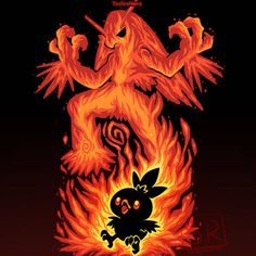 The Fire Bird Within Anime & Manga Poster Print Kalos Pokemon, Fire Pokemon, Pokemon Fan Art, Pokemon Sun, Pokemon Games, Pikachu Raichu, Deadpool Pikachu, Pikachu Art, Bulbasaur