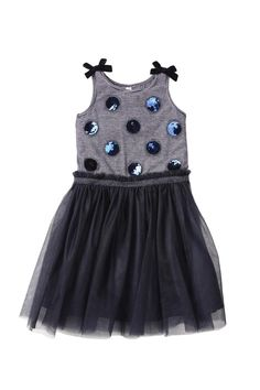 Isobella Chloe Midnight Star Baby Dress Sz 6mo 12mo