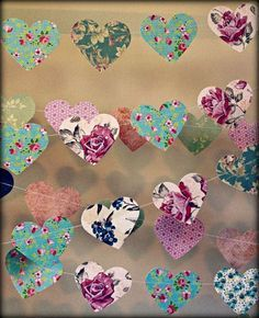Easy to do with beautiful wrapping papers.