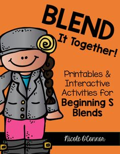 Beginning S Blend activities! A variety of printables and interactive activities!
