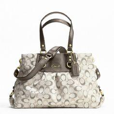 Shoulder Bag Coach Ashley 3 Color Metallic Signature « Clothing Impulse