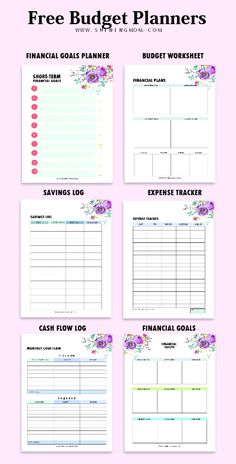 Tell your money where to go with this free printable budget binder! #planner #2018 #printable