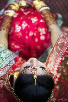 in > Wedding Photography by Akhil Khatri Photography Indian Wedding Poses, Bengali Wedding, Indian Wedding Couple, India Wedding, Indian Wedding Photography Poses, Bride Photography, Photography Ideas, Bridal Photoshoot, Bridal Shoot