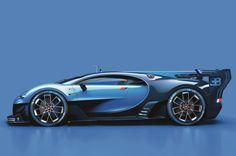 Bugatti Vision Gran Turismo concept profile
