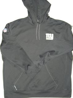 Kerry Wynn Player Issued Gray   White New York Giants Nike Therma-Fit  Pullover 2XL 3f9d142fc
