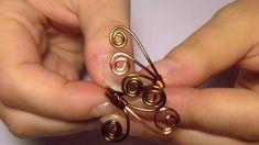 DIY Tutorial | Anello spirali wire / Wire wrapped spiral ring