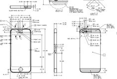 These probably aren't useful to the average person, but they are still interesting. They are iPhone 5 blueprints. Normally, such blueprints are intended for case manufacturers.      It's kind of cool to see, and they were only made available recently. Apple puts these out for registered developers, but now you can check them out, too.