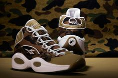 "Bape x Mita Sneakers x Reebok Question Mid ""1st Camo"" Release Date 