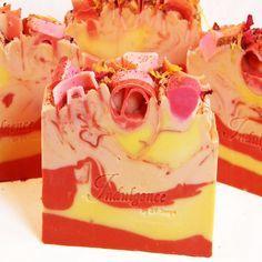 Cranberry Spice Vegan Artisan Soap | by svsoaps