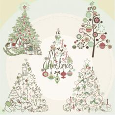 Santa Cross Stitch, Cross Stitch Tree, Counted Cross Stitch Patterns, Cross Stitch Embroidery, Embroidery Art, Christmas Tree Collection, Three Wise Men, Cross Stitch Supplies, Quilt Stitching