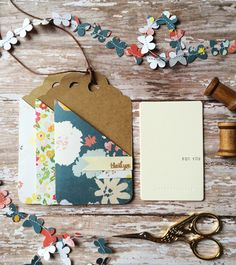 Silhouette Inspiration: Gift Tag Card Holder