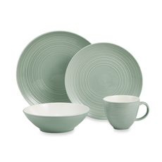 Denby Intro Stripes Blue 16-piece Dinnerware Set $47 #denbylovesblue ...