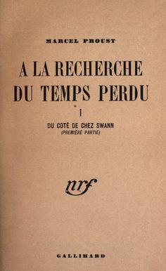 Scroll through the book: 1st part--Du côté de chez Swann