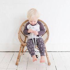 nOeser Longsleeve Boots (antraciet) | nOeser babykleding