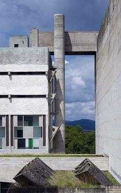 Sainte Marie de La Tourette. Lyon, France. Le Corbusier and Iannis Xenakis.1956-1960