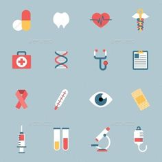 51 Ideas For Medical Design Graphics User Interface Medical Jokes, Medical Icon, Flat Design Illustration, Medical Illustration, Design Illustrations, Pharmacy Design, Medical Design, Flat Design Icons, Icon Design