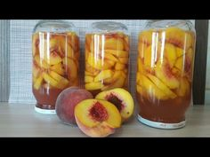 Food And Drink, Peach, Make It Yourself, Vegetables, Fruit, Youtube, Jelly, Preserves, Vegetable Recipes
