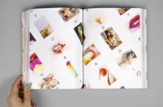 CREAM  - This is not a cookbook - by Victoria Pashkova, via Behance