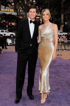 Jared Kushner and Ivanka Trump at the New York City Ballet Fall Gala.