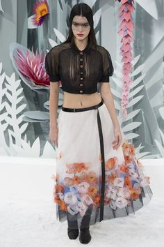 Chanel haute couture spring:summer 2015 #PFW #KendallJenner