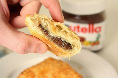 Nutella Marshmallow Turnovers, via Flickr.