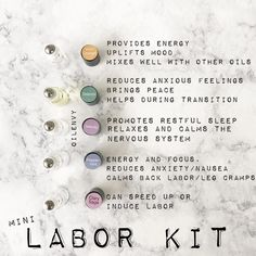 essential oils to pack in the birth bag for labor and delivery. Great baby shower gift too! Essential Oils For Pregnancy, Essential Oils For Babies, Young Living Essential Oils, Essential Oil Blends, Essential Oil Diffuser, Pregnancy Oils, Pregnancy Guide, Pure Oils, Natural Birth