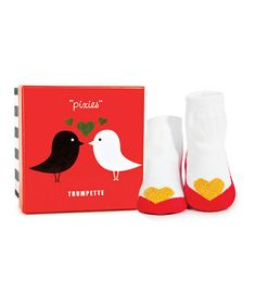 Take a look at this Red Valentine Pixie Socks by Trumpette on #zulily today! http://www.zulily.com/invite/kcrim608