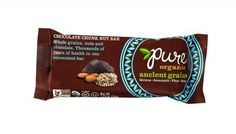 Pure Organic Ancient Grains Bar - Organic - Chocolate Chunk Nut - 1.23 Oz Bars - Case Of 12