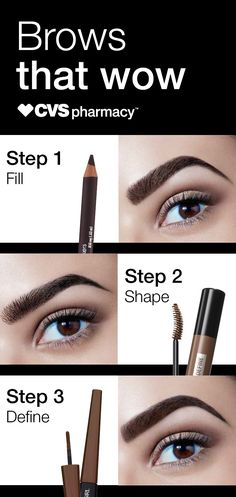Shop products to help you fill, shape, and define your brows. Find everything you need for brows that wow at CVS Pharmacy.