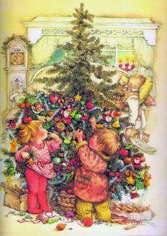 Christmas tree -- by Lisi Martin (1944, Spanish)