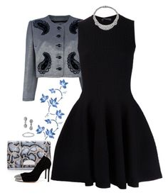 """""""Evening Elegance CCXIV"""" by gatbar ❤ liked on Polyvore featuring Maison Margiela, Givenchy, Alexander McQueen and Gianvito Rossi"""