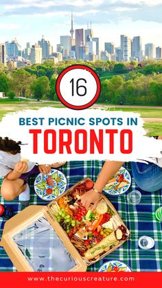 It's safe to say that there's a collective craving for outdoor space and a fresh air fix – perhaps like never before in the city's history. That's where the beloved picnic comes into play. Whether you go the good, old-fashioned route with homemade snacks and sandwiches, or pickup a goodness-packed gourmet picnic basket from a Toronto restaurant, the city has no shortage of spots to picnic. Here are 16 of the best picnic spots in Toronto. Ontario Travel, Canadian Travel, Picnic Spot, Travel Vlog, Prince Edward Island, Quebec City, Banff, Travel Guides, Adventure Travel