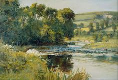 Streamside - Edward Mitchell Bannister, 1870