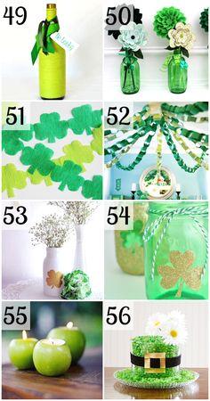 St. Patrick's Day Party Decor ideas- soooooo cute!