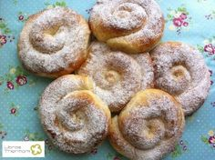 Ensaimada de Mallorca con Thermomix | Libros gratis de recetas con Thermomix.                Recetas  y accesorios Thermomix Bakery Recipes, Sweets Recipes, Mexican Food Recipes, My Recipes, Cooking Recipes, Spanish Dishes, Spanish Food, Sweet Cooking, Thermomix Desserts