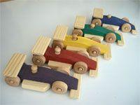 Formula One Wooden Race Car