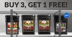 Memorial Day Sale starts now! Buy any 3 food products and get a 4th of equal or lesser value for free! Discount applied at checkout. Offer ends 5/28.